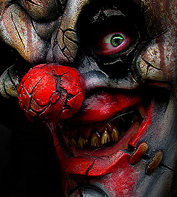 DIRTY CLOWN SLASHER MASK